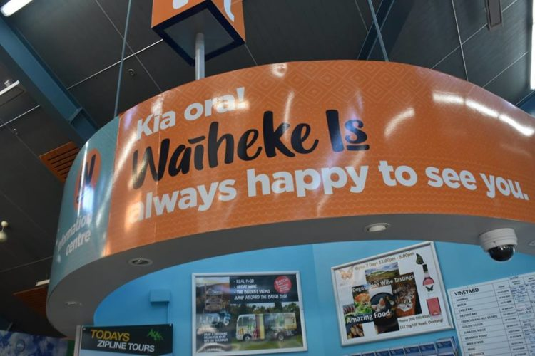 TOURING WAIHEKE AND POUHOI